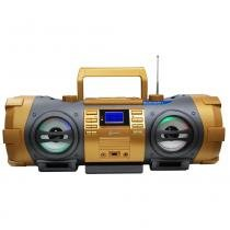 Cd player lenoxx bd-1500 com mp3, bluetooth, entrada usb, entrada auxiliar e rádio fm  100 w - Lenoxx