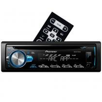CD Player Pioneer DEH-X10BR - Mixtrax Spotify ARC USB e Aux -