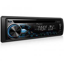 CD Player Pioneer DEH-X1880UB - USB - Aux - Controle -