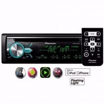 Cd Player Pioneer Deh-x5br Bluetooth Mixtrax Usb Carro Radio - Auto Mais
