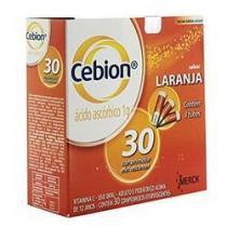 Cebion 1g com 30 comprimidos efervescentes Merck -
