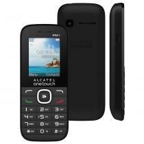 Celular Alcatel Ot 1045 18 Pol Preto Com Camera Vga Mp3 Radio Fm e Bluetooth - Alcatel