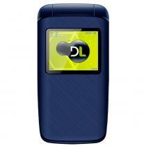 Celular DL Feature Phone YC335 1.8 Polegadas - Flip YC335AZU - Dl telecom