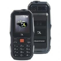 Celular DL PowerPhone Dual Chip - Câmera Integrada Rádio FM