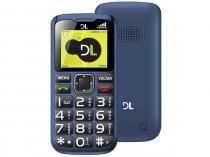 Celular DL YC120 Dual Chip - Câmera Integrada Rádio FM