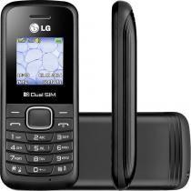Celular dual chip lg b220 desbloqueado 32mb 2g rádio fm - preto - Lg
