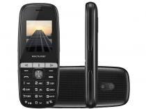 Celular Multilaser 2 Chips Rádio FM Bluetooth - MP3 Player Desbl.