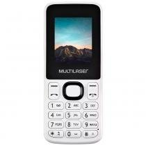 Celular Multilaser New UP Branco, Dual Chip, 32MB, Câmera VGA, MP3, Bluetooth -