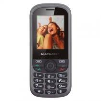 Celular Multilaser Up 2 chips com câmera preto Bluetooth MP3 Wap - P3292 - Multilaser