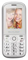 Celular Multilaser Up Dual Chip, C/ Camera, MP3, Radio FM e Bluetooth P3293 - Branco/Rosa -