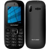 Celular Multilaser Up, Preto, P9017, Dual Chip, 128MB, Bluetooth - Multilaser