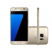 Celular Samsung Galaxy S7 G930 Dourado, 32GB, 4G, Tela 5.1, Câmera 12MP e Frontal 5MP, Desbloqueado -