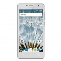 Celular Smartphone Ms50s Quad Core 8Gb Dual Chip 3G Branco P9050 Multilaser -