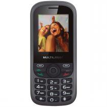Celular Up 2Chip Cam Preto E Cinza P3292 Multilaser -