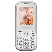 Celular Up 2Chip Quad Cam Mp3 Mp4 Fm P3293 Multilaser -