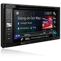 Central multimadia 2 din tela 6.2 mixtrax dvd/usb/am/fm/tv/bt gps avic-f980tv - Pioneer
