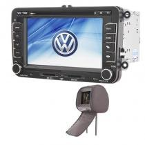 Central Multimídia Amarok GPS Tv  BT Usb + 1 encosto - X3automotive