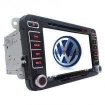 Central Multimidia DVD, GPS, TV Digital Original Volkswagen Jetta 12/15 ConfortLine, Tiguan - Hbuster