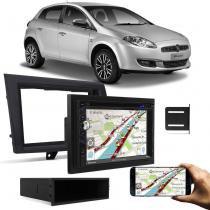 Central Multimídia Evolve+ 6,2 Pol USB SD Bluetooth Espelhamento Celular + Moldura Bravo 12 a 14 Gra - Prime