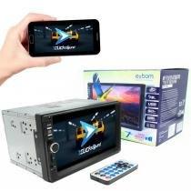 Central Multimídia Exbom MPCC-D722BT 7 Polegadas Com Espelhamento Android Bluetooth -