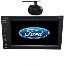 Central Multimidia Ford Ranger 1995 96 97 98 99 00 01 02 03 04 05 06 07 08 09 10 11 12 GPS TV Camera BT Usb Sd Espelhamento - X3automotive
