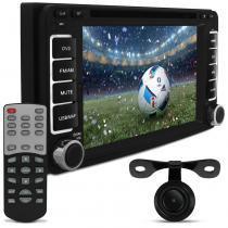 Central Multimídia Hilux Corolla Fielder Etios Audioart 7 Pol Bluetooth DVD GPS USB SD TV Câmera Ré - Audioart