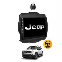 Central Multimidia Jeep Renegade basico  PCD Tv Gps Usb Sd Camera Espelhamento - X3automotive
