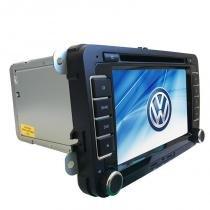 Central Multimídia Jetta Amarok GPS Tv  Camera de Re BT Espelhamento - X3automotive