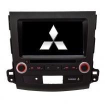 Central Multimídia Mitsubishi Outlander Até 2013 Dvd Tv Gps - Gtr