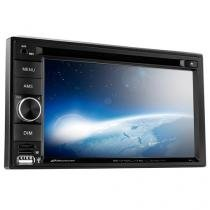 "Central Multimídia Multilaser 2 Din Evolve Light com Espelhamento Tela 6.2"" USB, SD, Aux, BT - P3321 - Multilaser"