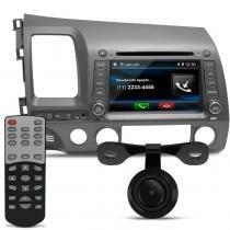 Central Multimídia New Civic 07 a 11 DVD TV GPS USB SD Câmera de Ré - Audioart