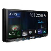 Central Multimídia Pioneer AVIC-F80TV 2 Din 7 Pol Bluetooth USB AUX RCA MP3 FM TV GPS -