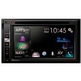 "Central Multimídia Pioneer AVIC-F980TV, Preto, Tela de 6.2"", GPS, TV digital, Bluetooth -"