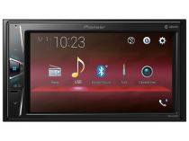 "Central Multimídia Pioneer MVH-G218BT LCD 6,2"" - Touch Bluetooth USB Auxiliar"