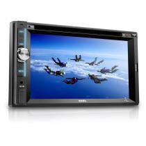 "Central Multimídia Zion 6.2"" Lcd USB CD e DVD Player Mp5 - Multilaser - Multilaser"
