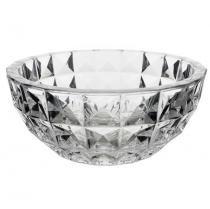 Centro de mesa de cristal ecológico 28 cm - diamond crystal - bohemia -