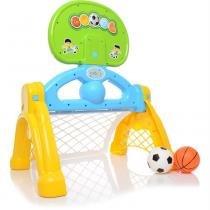 Centro Esportivo 2 em 1 Basquete e Futebol Infantil 2031 - Maral - Maral