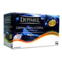Cera Depilatória Depimiel - Sistema Espanhol com Lama Negra - 1kg -