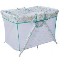 Cercado Dobrável para Bebês - Bianca 6630/C07. Verde - Tubline