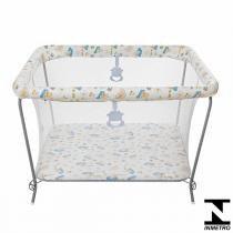 Cercado Para Bebê Até 15Kg Fofinho Branco 01011.06 Tutti Baby - Tutti Baby