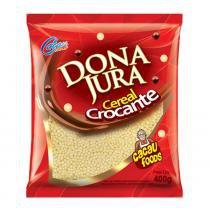 Cereal Crocante Chocolate Grande Dona Jura 400g - Cacau Foods -