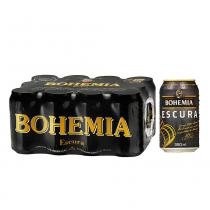 Cerveja Bohemia Escura Lata 350ml Caixa com 12 unidades - Cervejaria bohemia