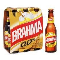 Cerveja Brahma Chopp Zero 355ml Caixa com 6 unidades - Brahma