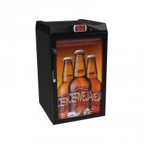 Cervejeira 100 litros adesivada - 127v - Preto - Venax