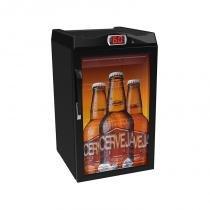 Cervejeira 100 litros adesivada - 220v - Preto - Venax