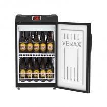 Cervejeira 100 litros preta copo taça - 127v - Preto - Venax
