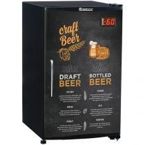Cervejeira/Expositor de Bebidas Vertical Gelopar - Capacidade Bruta 112L Frost Free GRBA-120C