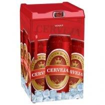 Cervejeira/Expositor Vertical 1 Porta 100 Litros - Venax Premium