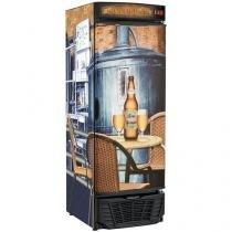 Cervejeira/Expositor Vertical Gelopar 404L - Frost Free GRBA 570F 1 Porta