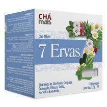 Chá 7 Ervas Cx10 Sachês de 1,2g - Chá mais